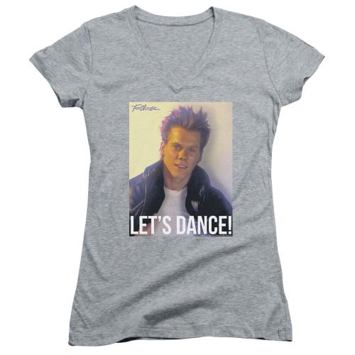 Image for Footloose Girls V Neck - Let's Dance