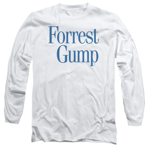 Image for Forrest Gump Long Sleeve Shirt - Logo