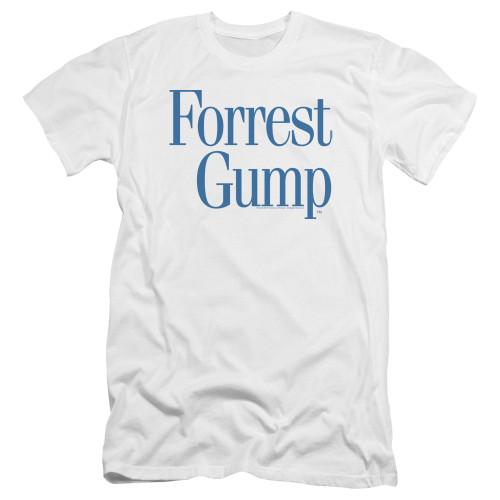Image for Forrest Gump Premium Canvas Premium Shirt - Logo