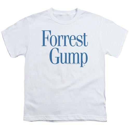 Image for Forrest Gump Youth T-Shirt - Logo
