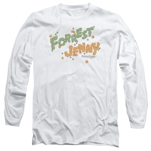 Image for Forrest Gump Long Sleeve Shirt - Peas and Carrots