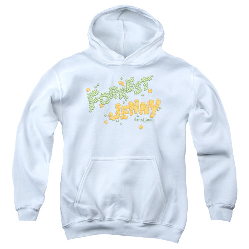 Image for Forrest Gump Youth Hoodie - Peas and Carrots