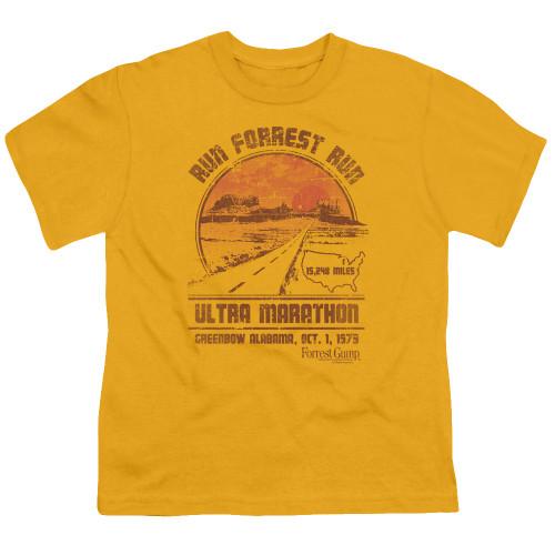 Image for Forrest Gump Youth T-Shirt - Ultra Marathon