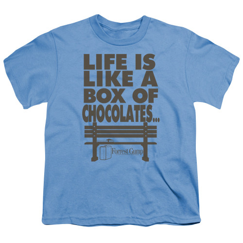 Image for Forrest Gump Youth T-Shirt - Life