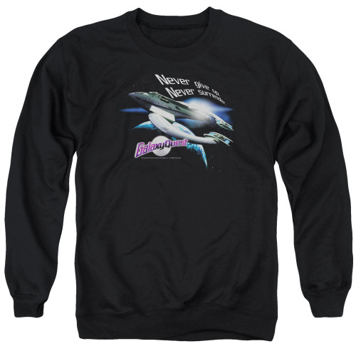 Image for Galaxy Quest Crewneck - Never Surrender