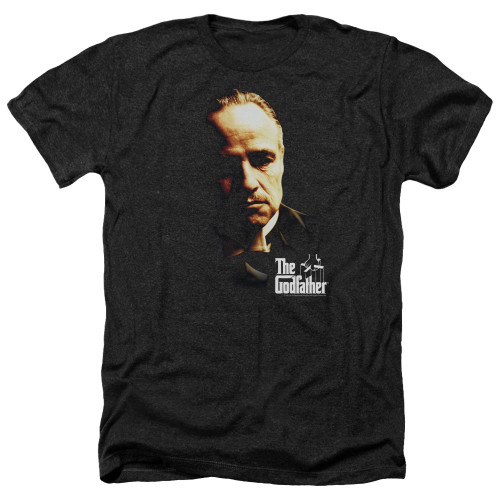 Image for The Godfather Heather T-Shirt - Don Vito