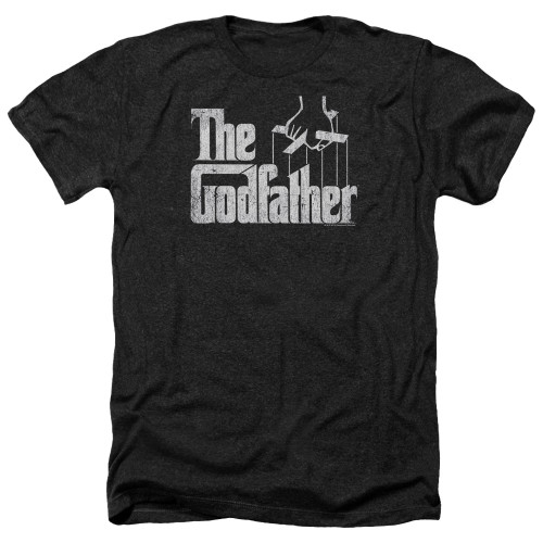 Image for The Godfather Heather T-Shirt - Logo