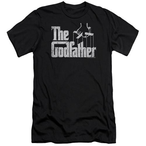Image for The Godfather Premium Canvas Premium Shirt - Logo