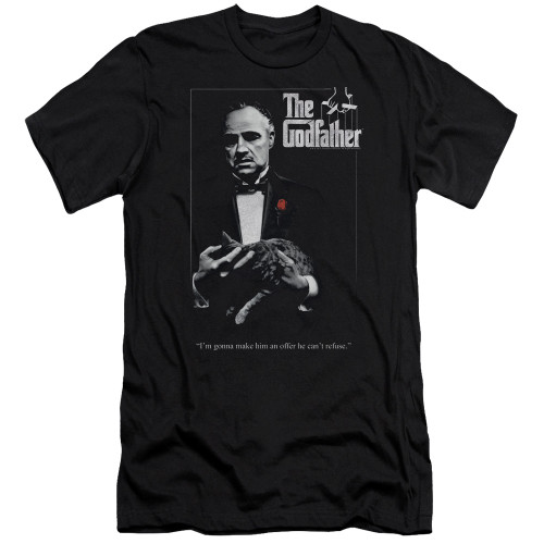 Image for The Godfather Premium Canvas Premium Shirt - Poster