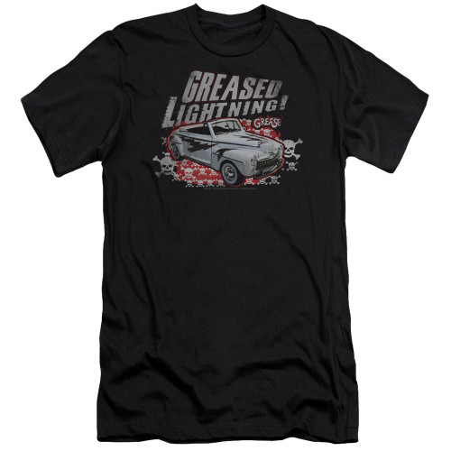 Image for Grease Premium Canvas Premium Shirt - Greased Lightning