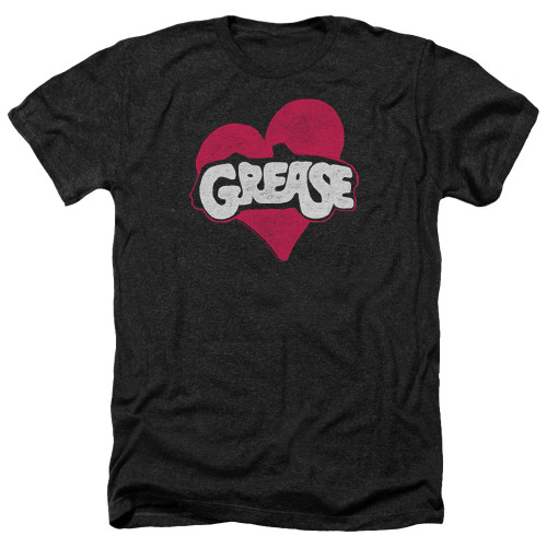 Image for Grease Heather T-Shirt - Heart