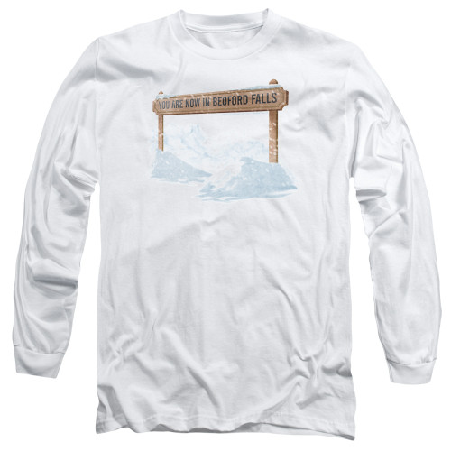 Image for It's a Wonderful Life Long Sleeve Shirt - Beford Falls