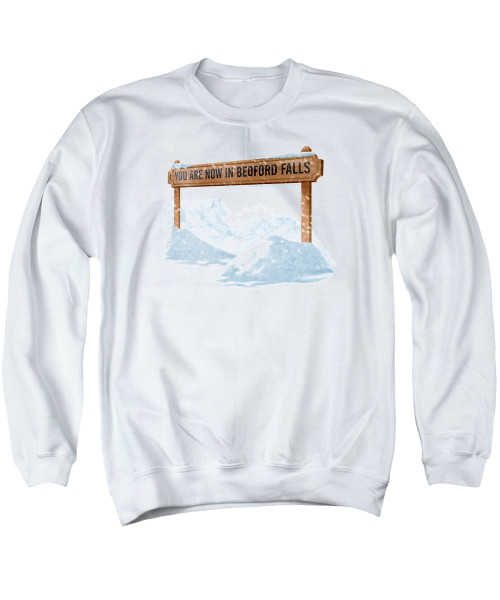 Image for It's a Wonderful Life Crewneck - Beford Falls