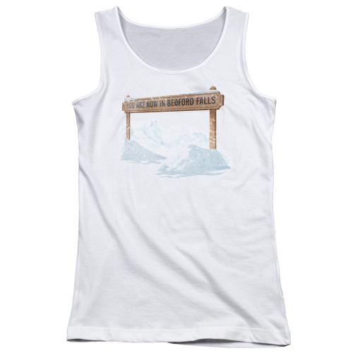 Image for It's a Wonderful Life Girls Tank Top - Beford Falls