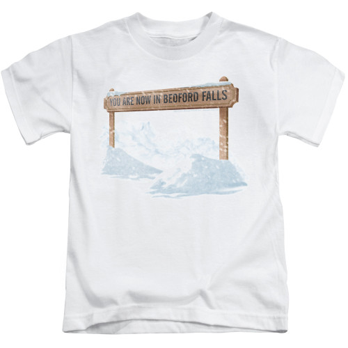 Image for It's a Wonderful Life Beford Falls Kid's T-Shirt