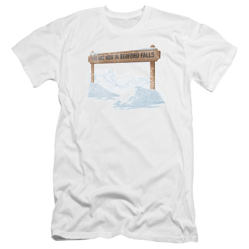 Image for It's a Wonderful Life Premium Canvas Premium Shirt - Beford Falls
