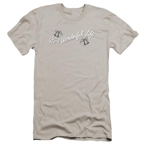 Image for It's a Wonderful Life Premium Canvas Premium Shirt - Logo