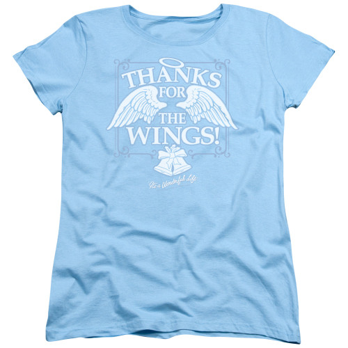 Image for It's a Wonderful Life Womans T-Shirt - Dear George