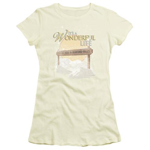 Image for It's a Wonderful Life Girls T-Shirt - Wonderful Story