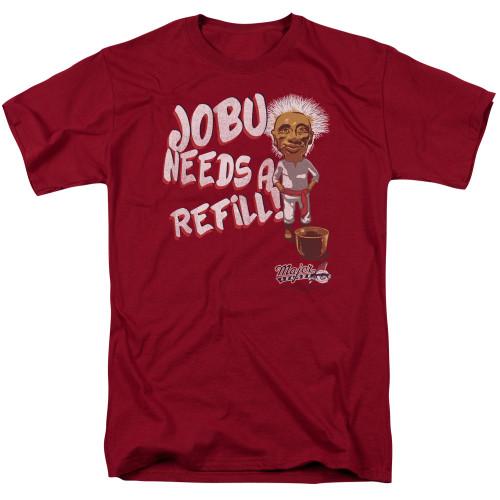 Image for Major League T-Shirt - Jobu Needs a Refill