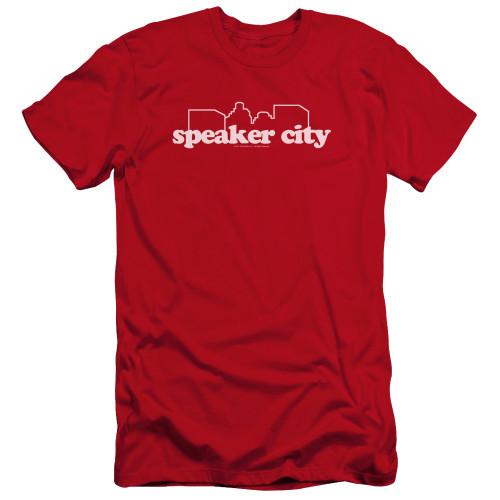 Image for Old School Premium Canvas Premium Shirt - Speaker City Logo