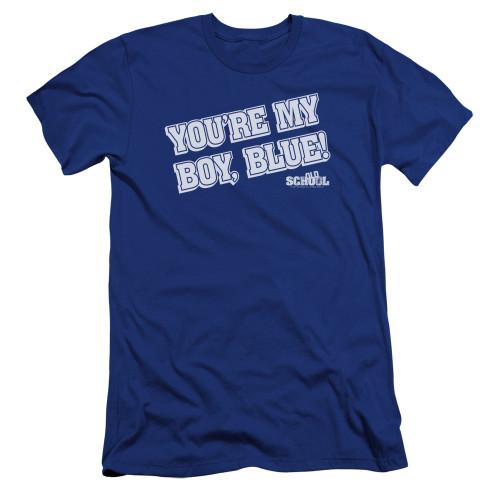 Image for Old School Premium Canvas Premium Shirt - My Boy Blue