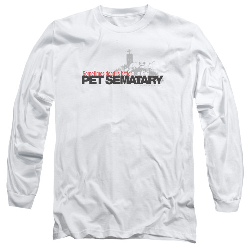 Image for Pet Sematary Long Sleeve Shirt - Logo