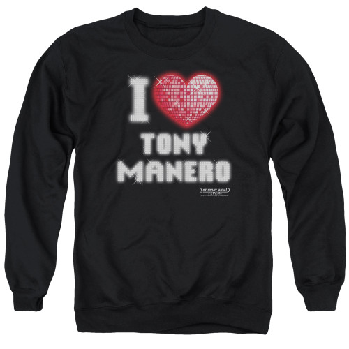 Image for Saturday Night Fever Crewneck - I Heart Tony