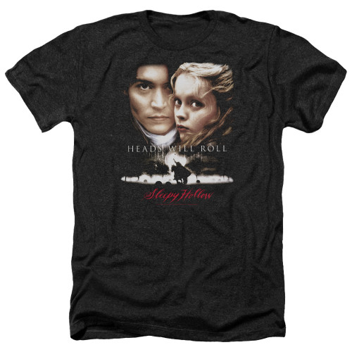 Image for Sleepy Hollow Heather T-Shirt - Heads Will Roll
