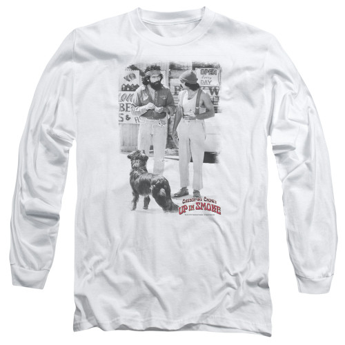 Image for Up in Smoke Long Sleeve Shirt - Square