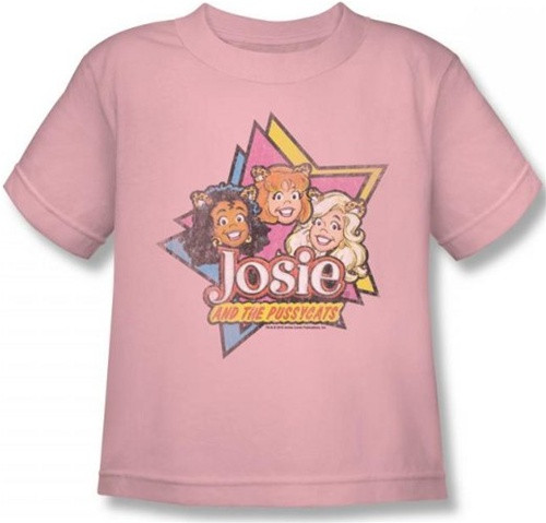 Image for Josie and the Pussycats Stars Kid's T-Shirt