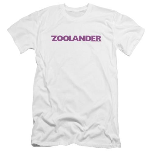 Image for Zoolander Premium Canvas Premium Shirt - Logo