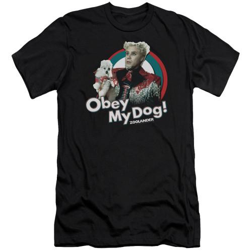 Image for Zoolander Premium Canvas Premium Shirt - Obey My Dog