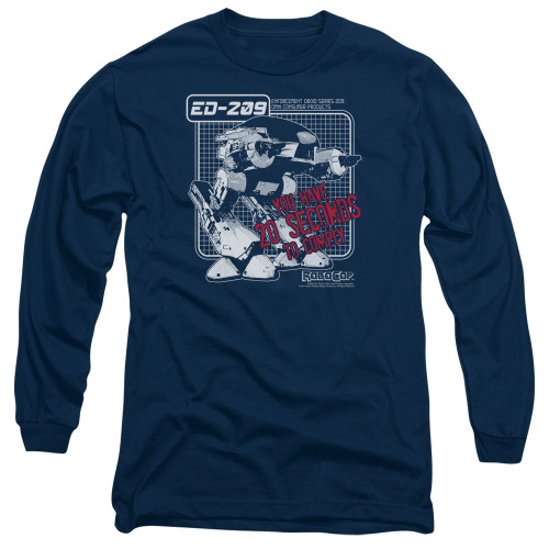 Image for Robocop Long Sleeve Shirt - Ed 209