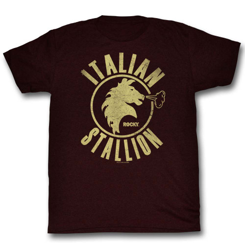 Image for Rocky T-Shirt - Sangria Stallion