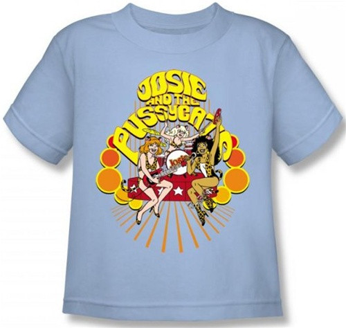 Image for Josie and the Pussycats Groovy Rock & Roll Kid's T-Shirt