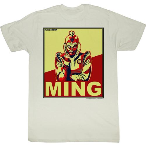 Image for Flash Gordon T-Shirt - Ming Poster