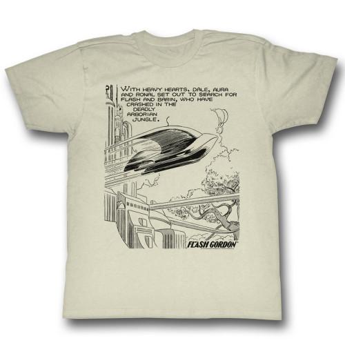 Image for Flash Gordon T-Shirt - Heavy Hearts