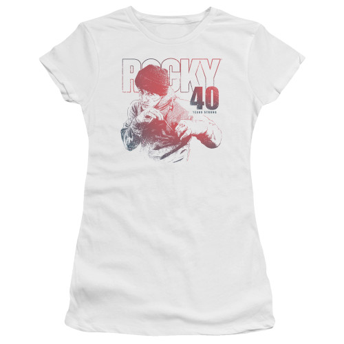 Image for Rocky Girls T-Shirt - 40 Years Strong
