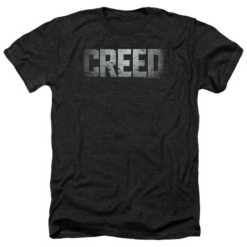 Image for Creed Heather T-Shirt - Logo