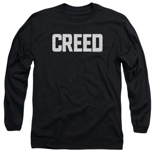 Image for Creed Long Sleeve Shirt - Logo Cracked
