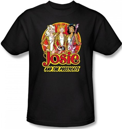 Image for Josie and the Pussycats Power Trio T-Shirt