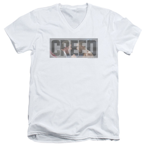 Image for Creed V Neck T-Shirt - Pep Talk