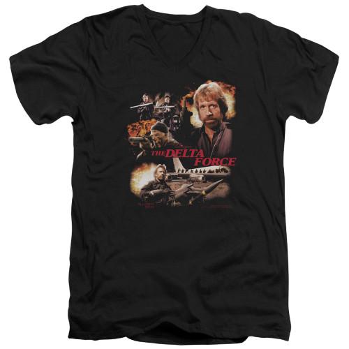 Image for Delta Force V Neck T-Shirt - Action Pack