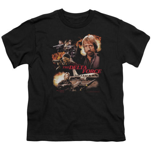 Image for Delta Force Youth T-Shirt - Action Pack