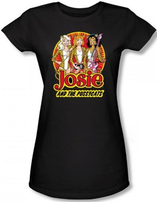 Image for Josie and the Pussycats Power Trio Girls Shirt