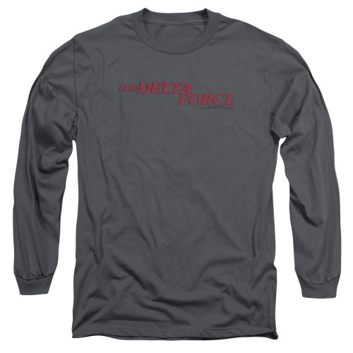 Image for Delta Force Long Sleeve Shirt - Distressed Logo