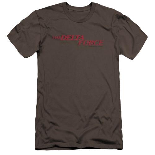 Image for Delta Force Premium Canvas Premium Shirt - Distressed Logo
