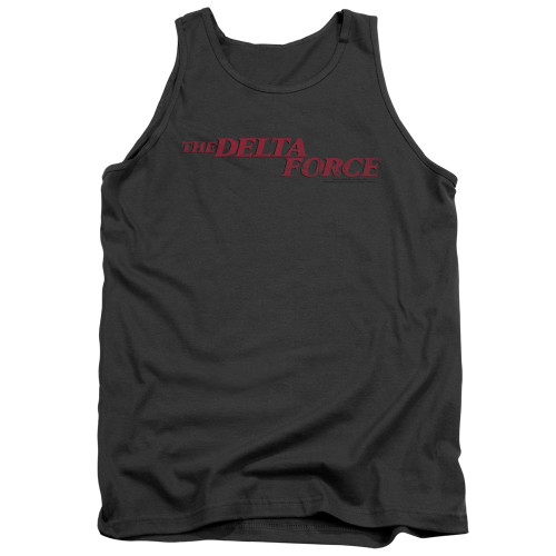 Image for Delta Force Tank Top - Distressed Logo