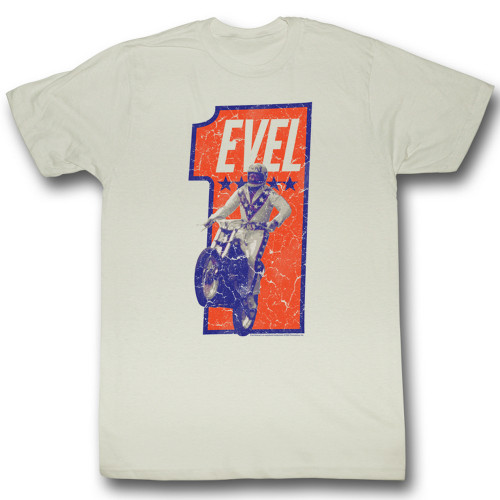 Image for Evel Knievel T-Shirt - Numbah One